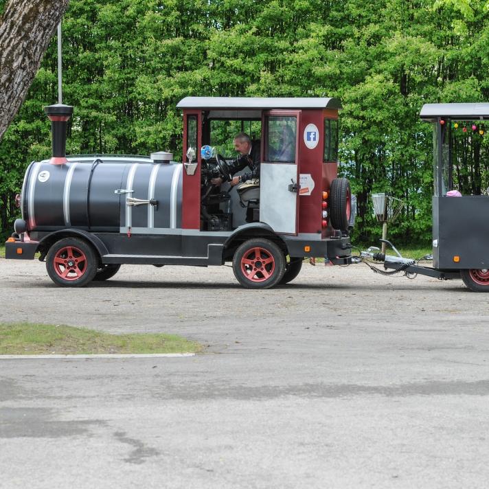 Der neue Zug in Goldingen