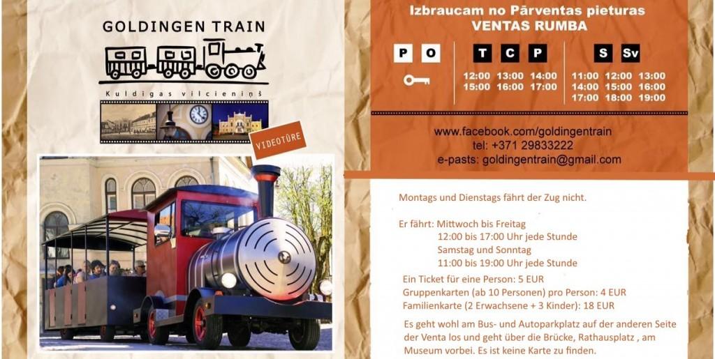 Goldigen train