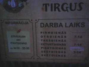 Tirgus - Der Markt in Kuldiga